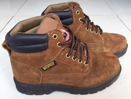 bota zapato seguridad punta fierro waterproof montaña trabaj