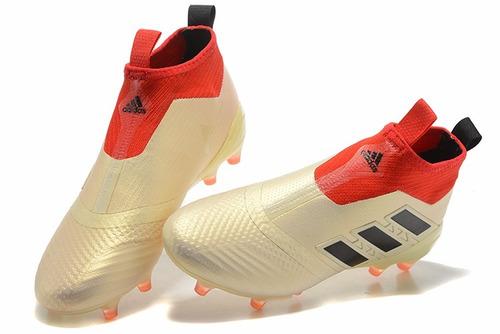 bota zapatos de fútbol 3d fg uñas adidas ace 17+ purecontrol