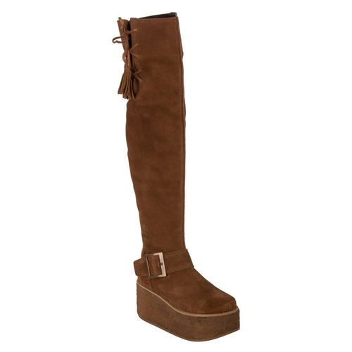 bota zappa mujer camel - x465