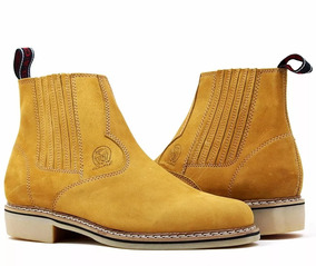 5e895f50e Botina Sola Latex Amarela - Sapatos com o Melhores Preços no Mercado ...