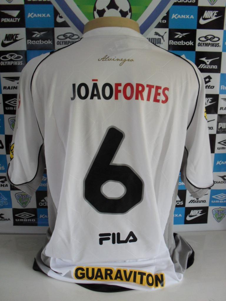 Botafogo Away Branca Nº 6 M.curta Tam. Gg Original Fila Nova - R  80 ... 35a4179ca6e00