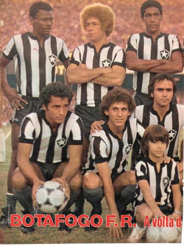 botafogo futebol e regatas - 1979 - pôster da placar