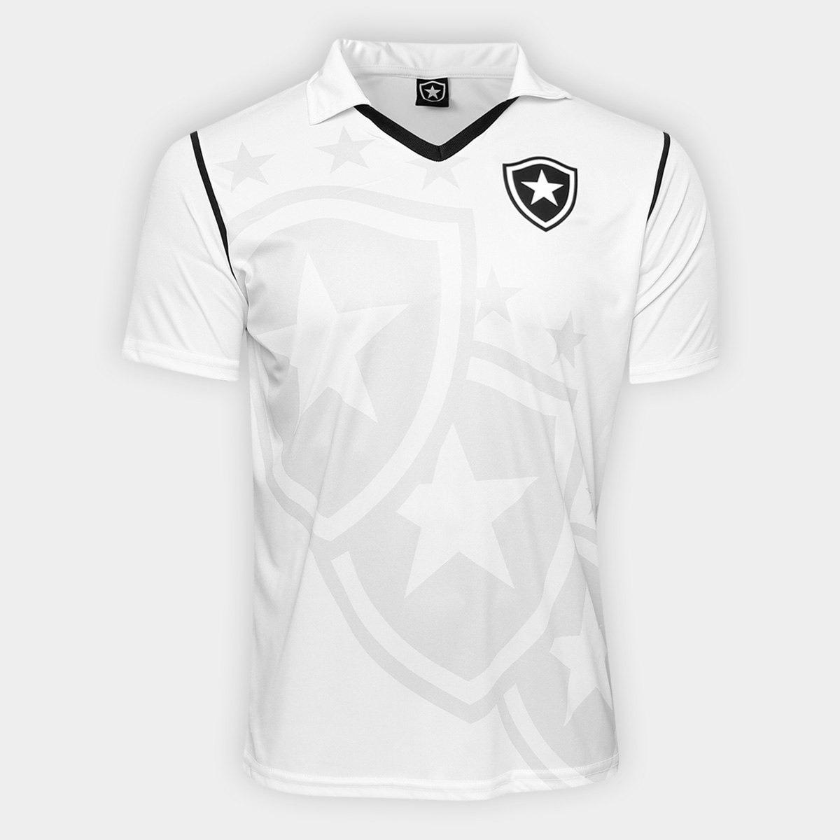 d15809bcf Camisa Botafogo Escudo Com Estrela Masculina Campeao Rio - R  120