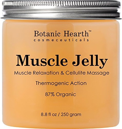 botanic hearth muscle jelly hot cream 8.8 fl. oz. - 100% nat