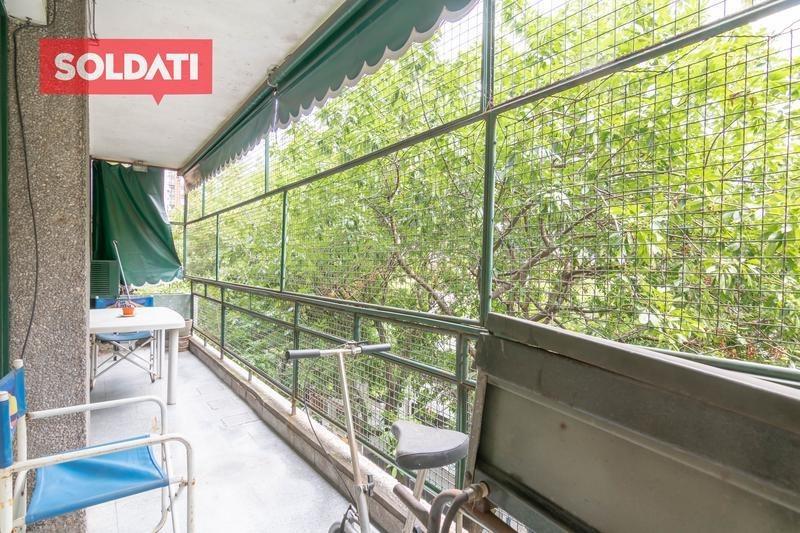botanico - amplio 3 ambientes a la venta con dependencia