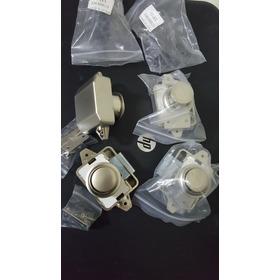 Botao Puxador Armario Motorhome Iate Lancha Kit C/ 4