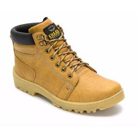8c3486bd063db Bota Coturno Casual Sapato Lançamento Exclusivo Khaata