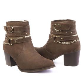 21a4a1c2c Katuxa Calçados Botas De Cano Curto Feminino no Mercado Livre Brasil