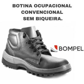 ef9fe2b40f77e Botina Ocupacional Convencional Bompel Sem Biqueira