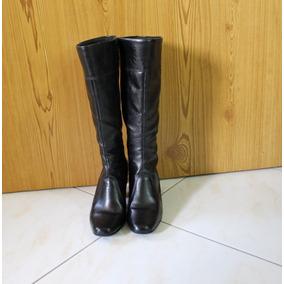 cea9df470bb Bota De Cavalgada Usada Botas Cano Longo - Sapatos