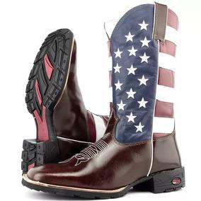 af7541401bac9 Bota Country Americana - Botas para Masculino no Mercado Livre Brasil