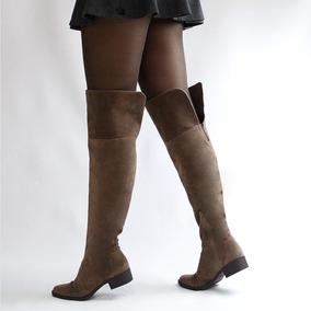 10edd03eca Bota Over Knee Feminino Botas Di Cristalli - Sapatos no Mercado ...