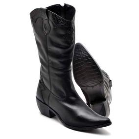 a4417d249e94a Botas Texana Femininas Douradas - Sapatos no Mercado Livre Brasil
