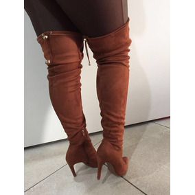 06eb2ca00a Bota Mixage Over The Knee Salto Grosso Botas - Sapatos para Feminino ...