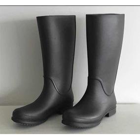 dfdfa99850f Bota Galocha Feminina Crocs - Sapatos no Mercado Livre Brasil