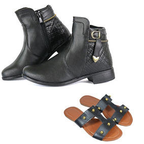 c9be22d283 Botas+rasteirinha+cano+curto+na+promocao+buscape Feminino - Sapatos ...