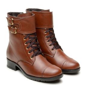 6b3a074e3 Bota Importada Com Cadarço E Fivela 9 - Sapatos no Mercado Livre Brasil