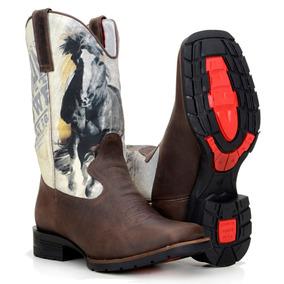 592b1b17bc Bota Texana Black Horse - Botas para Masculino no Mercado Livre Brasil