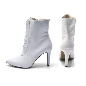 71f19f52f Bico Flor De Lis Botas - Sapatos Branco no Mercado Livre Brasil