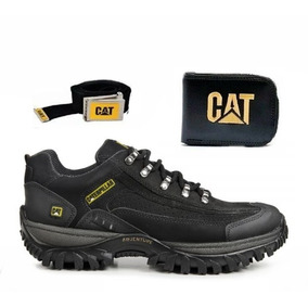 83d29bc1834 Coturno Bota Tenis Caterpillar Adventure Original + Kit Cat