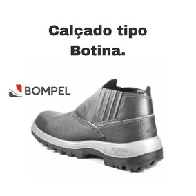 43795266feee4 Botina Bompel Ocupacional Com Biqueira