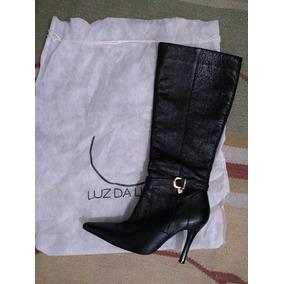 6e8abc428 Cano De Luz De Sobrepor Botas - Sapatos para Feminino, Usado no ...