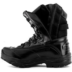 3edc07d18c Coturno Da Policia Militar Impermeavel Com Ziper - Botas no Mercado ...