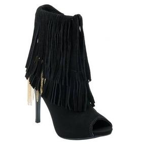 989061437 Privalia Sapatos Feminino Peep Toe Comfortflex - Botas no Mercado ...