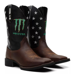 13b2ea22c3b54 Bota Texana Country Masculina Bic Quadrad Monster 33 Ao 45