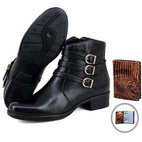 c7d45593e83fa Botas Femininas Franca Sp - Sapatos para Feminino no Mercado Livre ...