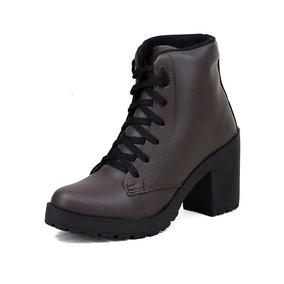 5913acbe2b Coturno Feminino Rock Com Salto - Sapatos para Feminino no Mercado ...