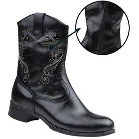 9ce7fcee9f Botina Marcial Boots Feminina - Sapatos no Mercado Livre Brasil