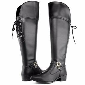 Bota Desmond Over Knee - Sapatos no Mercado Livre Brasil 32485f85d9607
