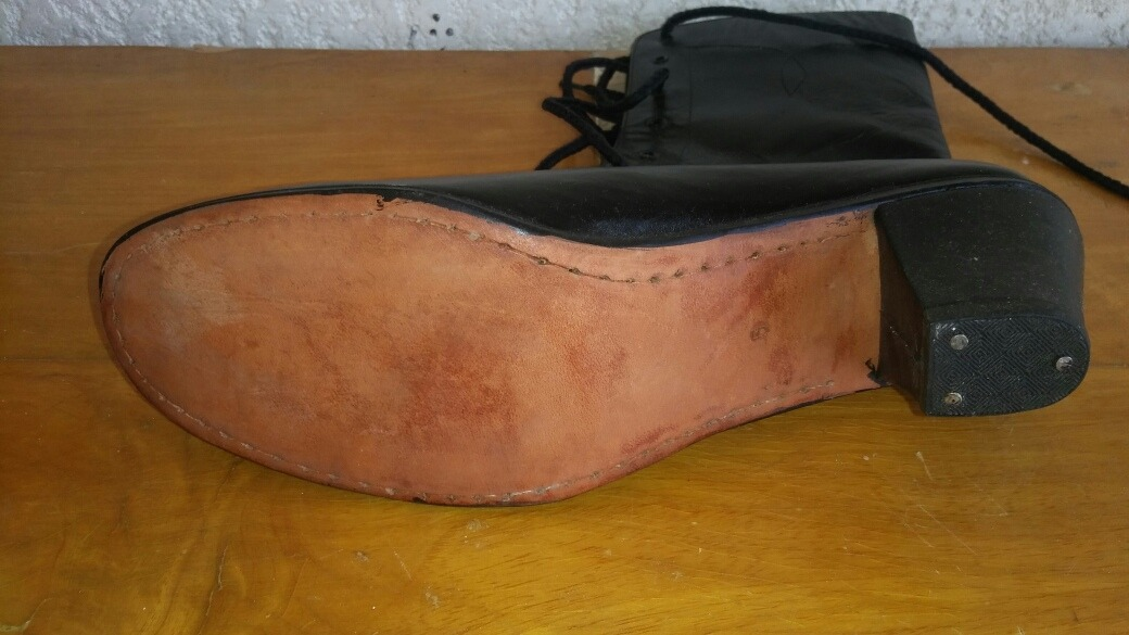 a5d1917b8 botas adelita para baile folklorico piel negra danza botín. Cargando zoom.