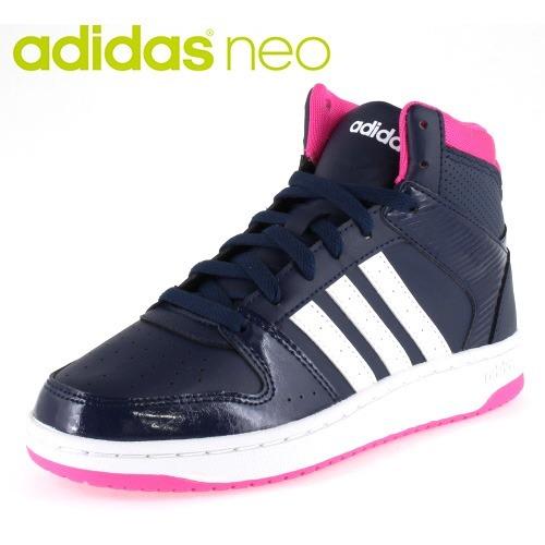 bc2c95a78ae Botas adidas Neo Hoops Mujer Marino Aw4763 Look Trendy -   1
