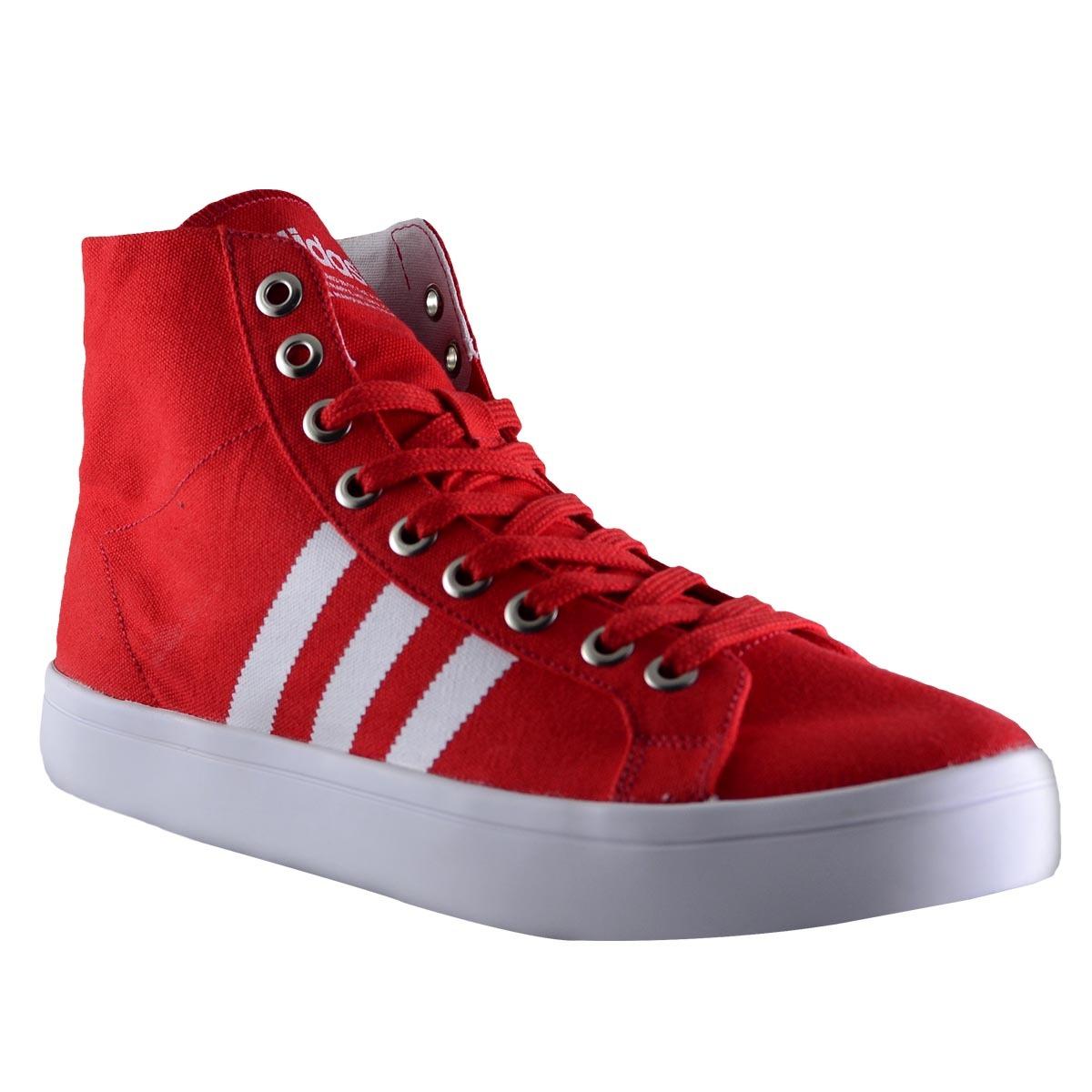 botas adidas original courtvantage mid hombre rojo. Cargando zoom. 8480702fe6ebc