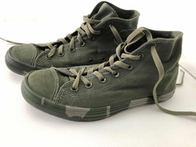 converse verdes militar