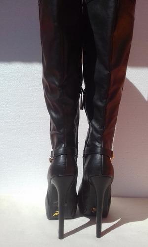 botas altas con plataforma shiekh nuevas.
