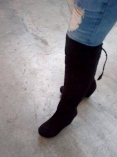 botas altas de damas  castor