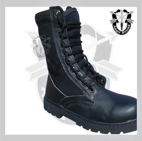 botas altas lona armystore