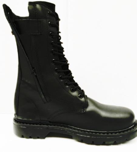 botas altas militar táctica piel con cierre armystore