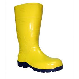 Botas Amarillas De Seguridad Plasticas Cana Larga Y Corta