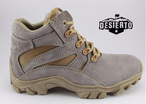 botas arena medía caña tipo desierto