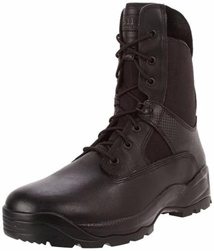 botas atac de 8 pulgadas negro  8.5 us