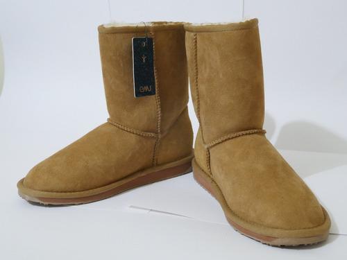botas australianas emu talla 7 mujer