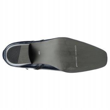 botas azul marino para hombre giorgio brutini del 8m