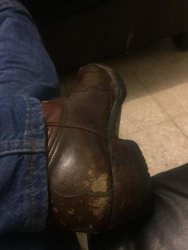 botas baqueras son marca montana son de piel de aveztuz