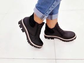 ed583908579 Borcegos Mujer Con Lengueta Foblada - Zapatos en Mercado Libre Argentina