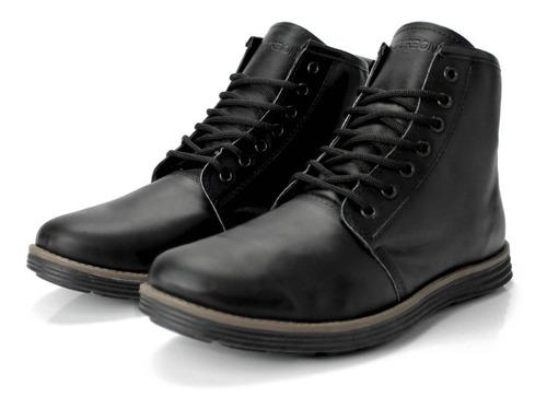 botas borcegos de cuero de hombre bourbon store