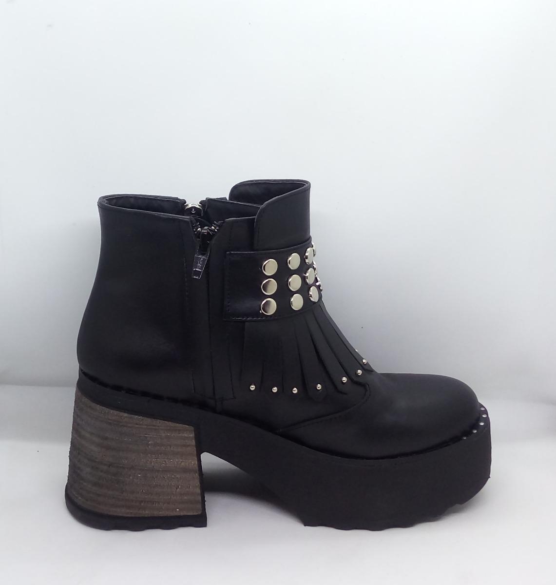 7e8f9d05 Botas Borcegos Mujer Taco Riot Art 183 Zona Zapatos - $ 2.309,00 en ...